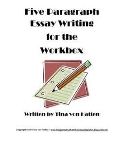Five paragraph essay planner